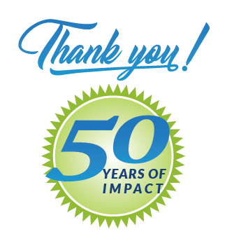 Thank you for 50 years of impact