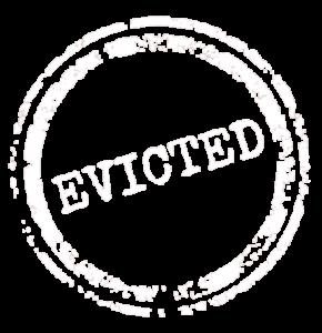 Evicted icon - reversad
